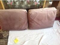 2 sofa cushion medium size used 2 for £4