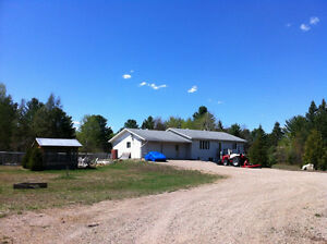 Chalk River 4 Bedroom on 100 Wooded Acres