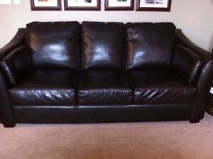 Leather Full Size Couch