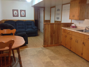 Furnished Bachelor Apartment in Amherst For Rent