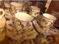 Set 20 pieces coffee cups and plates £20