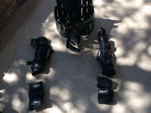Lacrosse protective equipment