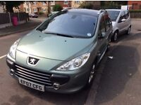 PEUGEOT 307 sw LONG MOT MAY 2017 PX welcome