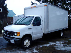 Ford E-450-16 ft cube Van