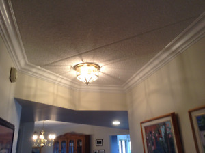 four matching ceiling light fixtures