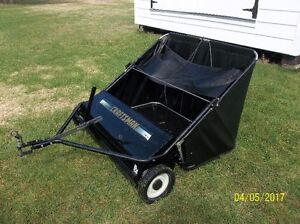 LAWN SWEEPER CRAFTSMAN HIGH PERFORMANCE