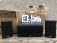 Mission Centre Channel 70c1 2 Way Speakers & Book Shelf Speakers