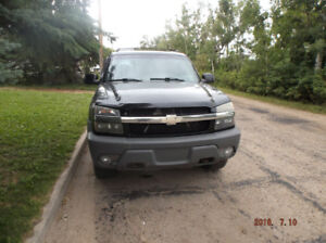 2002 Chevy Avalanche 1500 4x4