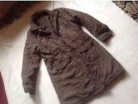 Per una ladies coat size: M/12 used £4