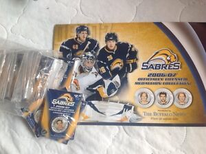 Sabres collector sets - take both for $15 London Ontario image 1