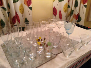 Glassware -  Everything you need for a party