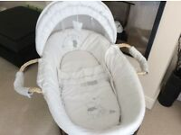 Winnie the Pooh starry nights Moses basket & Winnie the Pooh starry nights Cotbed