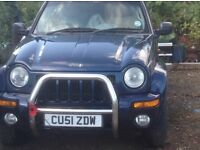 Jeep Cherokee 3.7L with Professional LPG Conversion . 2002.