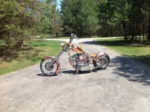 CFL West Coast  Copper Chopper ( Jeese James Custom Built Gem )