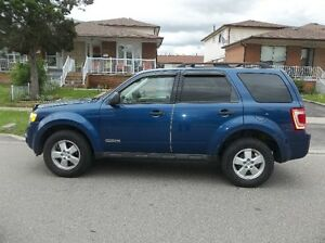 2008 Ford Escape XLT SUV, Crossover (Safetied And Etested)
