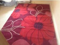 Rug 7foot 6inches x 5foot 4inches