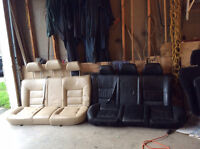 2001 Jetta Leather Rear Seats