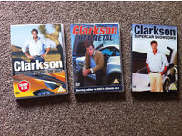 3 Brand new Clarkson DVDs All 3 for £5