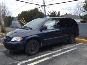 Van for sale - à vendre - $1700