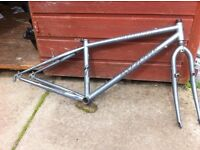 Specialized Rockhopper mountain / touring bike frame