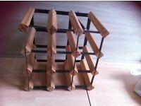 Wine rack wooden