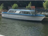 Calypso Broads Cruiser Liveaboard or Cruiser Location Beverley