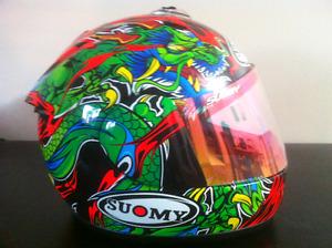 Suomy dragon helmet