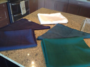 Tablecloths with napkins