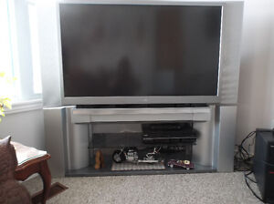 "52"" Surround Sound Projection TV & Stand"