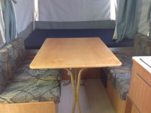 Vancouver Island based Coleman Tent Trailer Rental or Rent