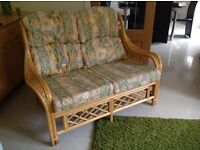 Conservatory suite 2 chairs, 1 two seater and a coffee table from a pet and smoke free home.
