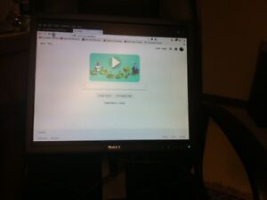 """Dell 19"""" monitor (Slides up & down)"""