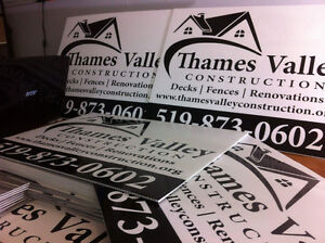 Storefront Signs, Vehicle Decals, Custom Banners and more London Ontario image 3
