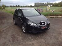 24/7 Trade sales NI Trade prices for the public 2009 Seat Altea 1.9 TDI Reference Sport Black