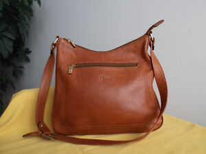 Sac à main Opale, cuir souple / Opale handbag, soft leather