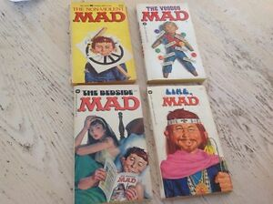 MAD Paper Back Books(4) Good for collectors. All 4 for $15.00