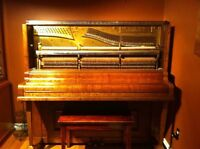 Beautiful piano available for free