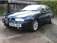 Alfa Romeo 156 1.8 T.Spark Lusso With A Fully Documented Service History