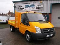 2010 10 FORD TRANSIT DROP SIDE PICK UP WITH 65000 MILES ONE OWNER FULL HISTORY