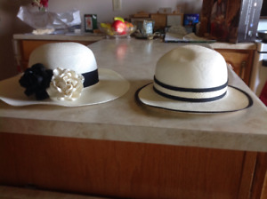 NEW LADIES PANAMA HATS purchased in equador