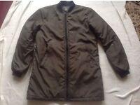 Ceder wood Ladies light coat size: M/12 used £3
