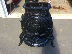 Gothic style parlour stove very old