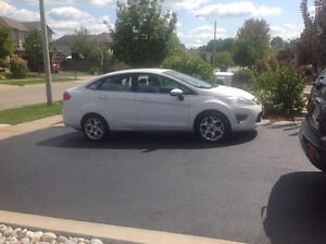 2011 Ford Fiesta SEL w/ Spare Snow Tires on Rims