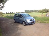 24/7 Trade Sales NI Trade Prices for the Public 2007 Vauxhall Meriva 1.6 Life Blue motd March 19