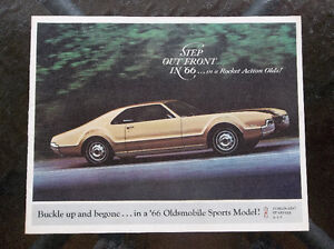 1966 Toronado & Starfire & 442 dealer showroom catalog