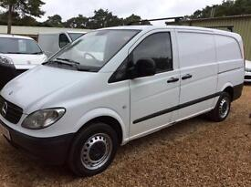 MERCEDES VITO 115 CDI LONG , White, Manual, Diesel, 2009
