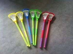 7 youth Lacrosse sticks