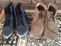 Men's shoes 2 shoes size: 44 used £4 both