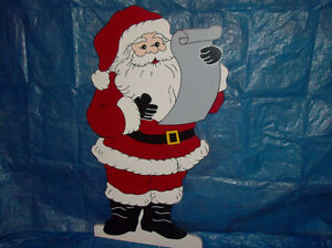 Wooden Christmas Lawn Decorations /Ornaments London Ontario image 1