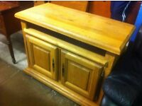 Heavy Oak Kitchen Sideboard